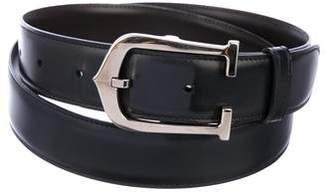 Cartier C Allonge Leather Belt