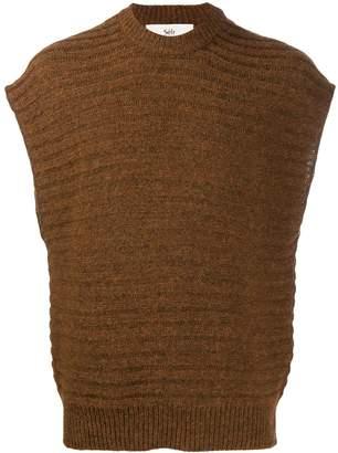 Séfr crew-neck knit vest