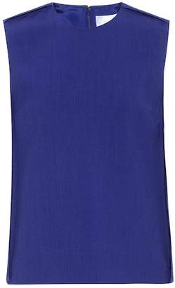 Victoria Beckham Victoria Sleeveless wool-blend top