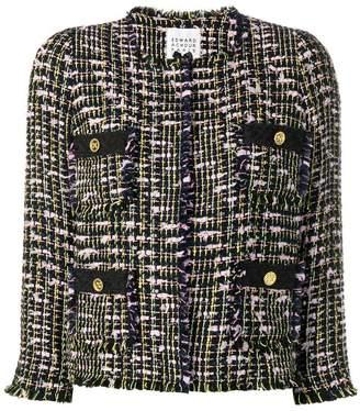 Edward Achour Paris four pockets tweed jacket