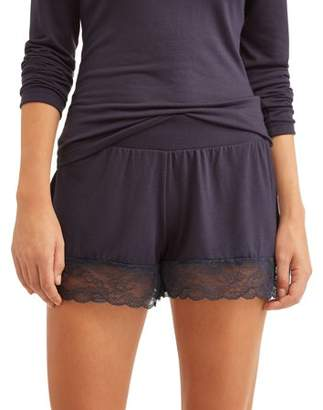 Honeydew Women's Sheer Luck Jersey and Lace Shorts