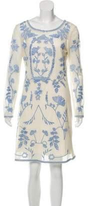 ALICE by Temperley Knee-Length Mesh Dress