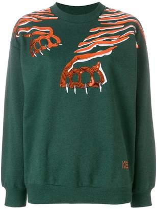 Kenzo Geo Tiger sweatshirt