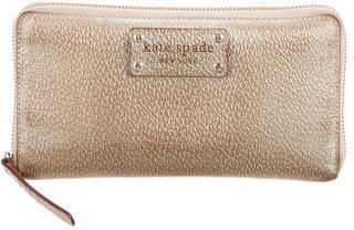 Kate Spade Kate Spade New York Metallic Continental Wallet