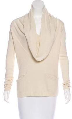 Soyer Cashmere-Blend Funnel-Neck Sweater