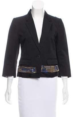 Dries Van Noten Lightweight Embellished Blazer