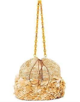 Carolina Santo Domingo Corallina Large Bucket Bag
