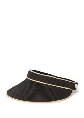 Calvin Klein Straw Elastic Belt Visor