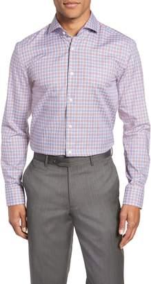 BOSS Jason Slim Fit Plaid Dress Shirt
