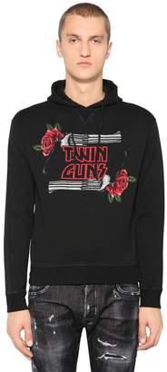 DSQUARED2 Twin Guns Jersey Sweatshirt Hoodie