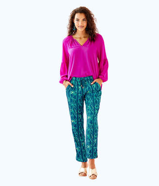 "Lilly Pulitzer 28"" Piper Crop Pant"