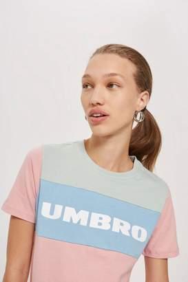 Umbro Colour Block Logo T-Shirt