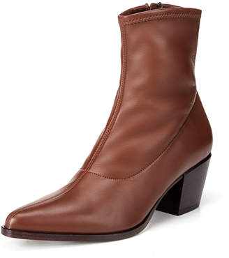 Vince Hayek Stretch-Leather Booties