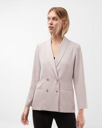 Express Boxy Double Breasted Blazer