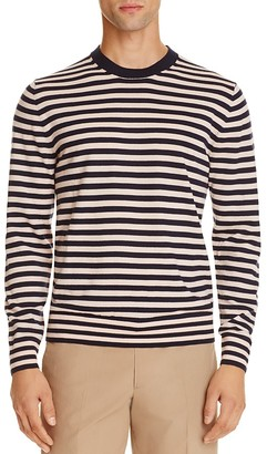 PS Paul Smith Merino Wool Striped Sweater $225 thestylecure.com