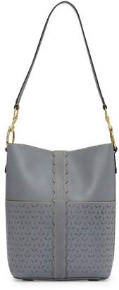 Frye Ilana Perforated Leather Bucket Bag