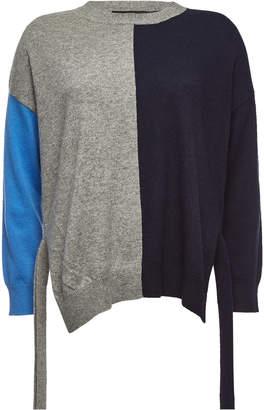 Steffen Schraut Color Block Cashmere Pullover
