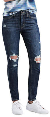 Levi's 721 Blown Away High-Rise Skinny Ankle Jeans