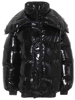 Vetements Layered puffer coat