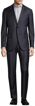 Ermenegildo Zegna Wool Windowpane Suit