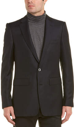 Burberry Slim Fit Wool-Blend Tailored Jacket