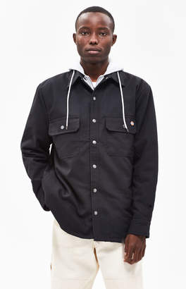 Dickies Relaxed BlackHooded Work Jacket