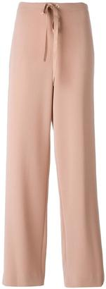 Theory drawstring straight trousers $343.62 thestylecure.com
