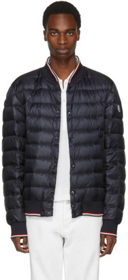 Moncler Navy Down Aubry Jacket