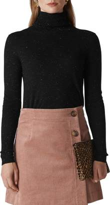 Whistles Annie Sparkle Turtleneck