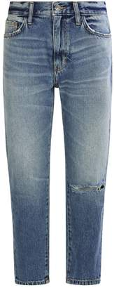 Current/Elliott Current Elliott Vintage Crop Slim Jeans