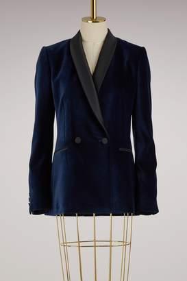 Stella McCartney Esther velvet jacket