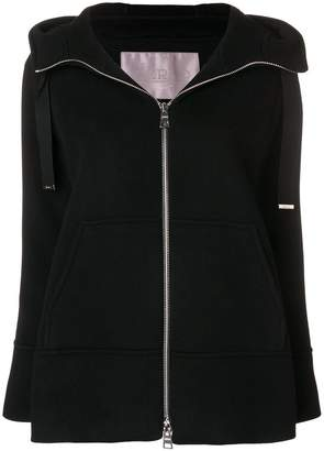 Herno hooded zipped jacket