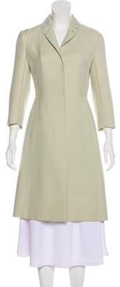 Valentino Wool Knee-Length Coat