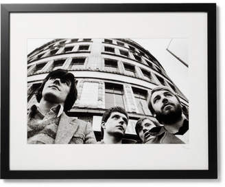 Sonic Editions Framed Joy Division, Manchester 1979 Print, 16 X 20