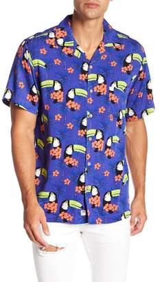 Trunks Surf and Swim CO. Toucan Print Shirt