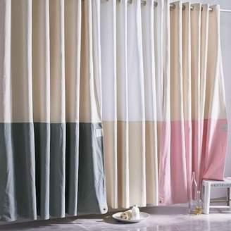 west elm Quiet Town Home Shower Curtain - Orient