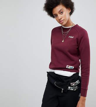 Fila Boyfriend Sweatshirt With Woven Chest Logo