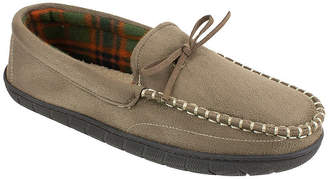 Dockers Plaid Lined Moccasin Slippers