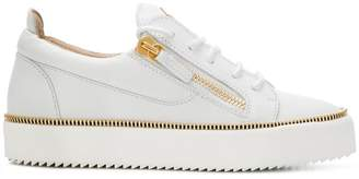 Giuseppe Zanotti Design Nicki zip detail sneakers