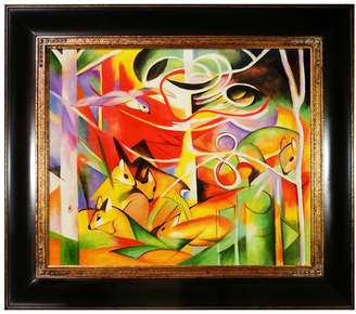 Overstock Art Deer in the Forest by Franz Marc (Canvas)