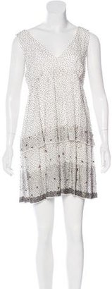 Twin.Set Embellished Sleeveless Dress $95 thestylecure.com