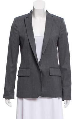 Stella McCartney Wool Stand Collar Blazer