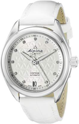 Alpina Women's AL-525STD2C6 Comtesse Analog Display Automatic Self Wind Watch