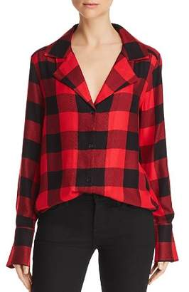 Paige Elora Plaid Shirt