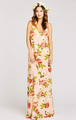 Show Me Your Mumu Jolie Maxi Dress ~ Blushing Blooms