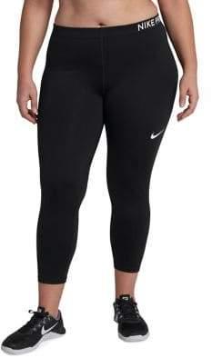 Nike Pro Mesh Capri Leggings