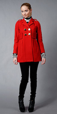 Double Breasted Short Coats from Sonia by Sonia Rykiel
