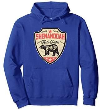 Vintage Shenandoah National Park Bear Retro Hoodie