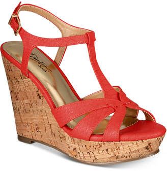 Thalia Sodi Valerrina Platform Wedge Sandals