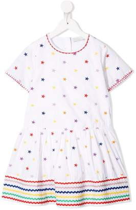 Stella McCartney embroidered star dress